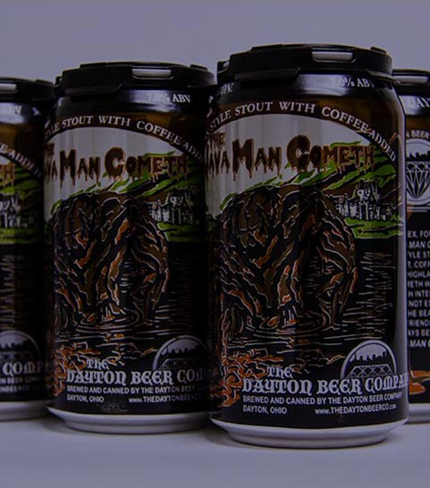 Java Man Cometh canned 6 pack