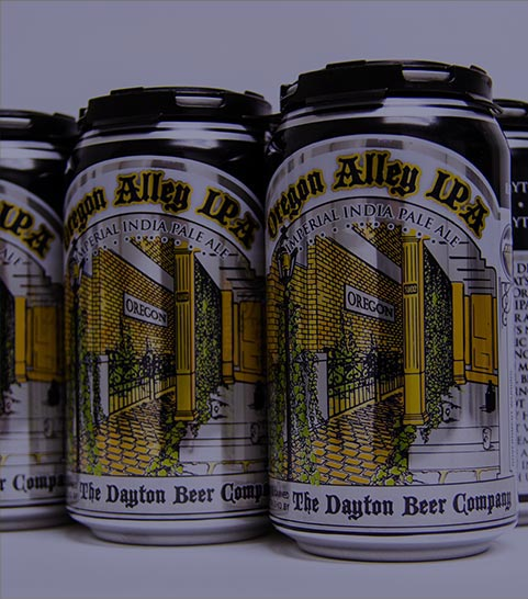 Oregon Alley canned 6 pack